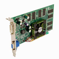 NVIDIA Quadro® FX500 128MB AGP8X Video Card
